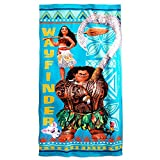 Disney Moana Beach Towel - Blue
