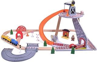Yyz Track Series Children's Puzzle Boy Mine Rail Car Toy Car Small Train Parking Landscape Toy Set Birthday Gift