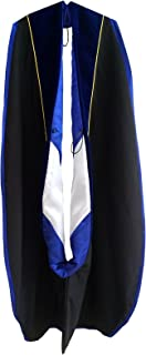 Grad Days Graduation Doctoral Hood Unisex Deluxe with Gold Piping