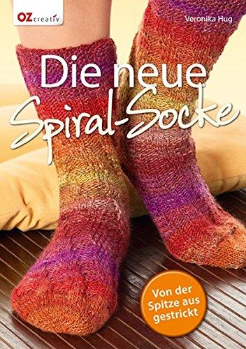 Die neue Spiral-Socke: Von der Spitze aus gestrickt