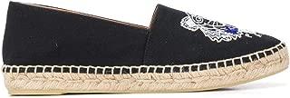 KENZO Luxury Fashion Womens F962ES190F7099 Black Espadrilles | Season Permanent