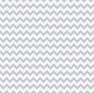 Laeacco Light Grey Chevron Stripes Photo Backdrop 6.5x6.5ft Vinyl Photography Background Novelty Design Artistic Pattern Photo Backdrops Newborn Baby Birthday Party Backdrops Children Photography