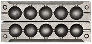 Adygil Round Sinker Mold with 5 Cavities and 4-Ounce