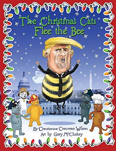 The Christmas Cats Flee The Bee (English Edition)