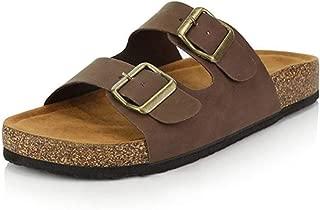 AREBULE-sandal Leopard Flat Sandals Beachslippers Flip Flops Sandalia Feminina Plus Size 35-44