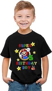 T-Shirts Anime Elements Mario Kinderen