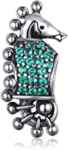 EVESCITY Many Styles Silver Pendents 925 Sterling Beads Fits Pandora, Similar Charm Bracelets & Necklaces