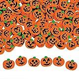 144 ~ Halloween Pumpkin Jack-o-lantern Mini Erasers ~ Approx. 3/4' ~ New