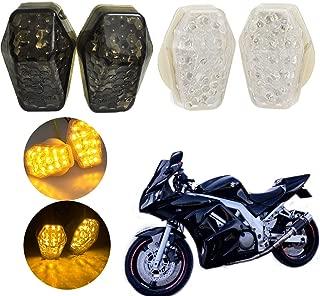 Kinstecks 7Pin Clignotant Relais 12 V Indicateurs De Moto LED Clignotant LED pour Suzuki GSXR 650 750 1000 Bandit Moto