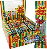 Sour Power Candy Straws, Sortz, 1.75-Ounce Units (Pack of 24) (ZQB-16867)