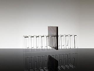 Porta CD de Mesa de plexiglás Sibelius para 10Discos, Transparente