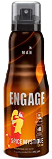 Engage Spice Mystique Deodorant for Men, Woody and Leather, Skin Friendly, 150ml