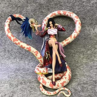 TUNABAP LLC One Piece Portrait of Pirates Neo Maximum Boa Hancock with Snake 15th Anniversary S.e.x.y PVC Anime Action Figure Model Toys 21CM - A No Box - Type D573
