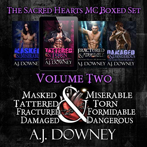 The Sacred Hearts MC Box Set: Volume 2 audiobook cover art