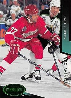 1993-94 Parkhurst Emerald Ice Hockey #56 Paul Coffey Detroit Red Wings