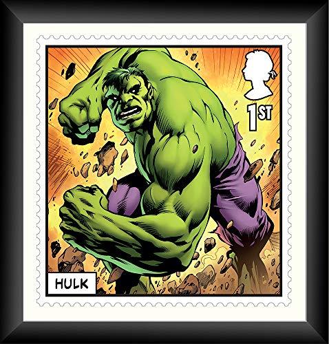 Impresión de Hulk Gallery enmarcada de Marvel
