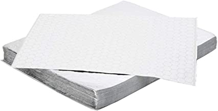 Oasis Supply, Pre-Cut Insulated Foil Sandwich Wrap Sheets - Grease-Resistant, for Hot Food Items, 250 Count, 10 3/4