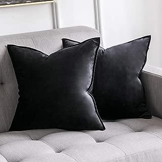 Best black velvet pillow Reviews