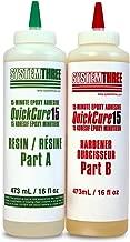 System Three Quick Cure 15, 1-Quart Kit