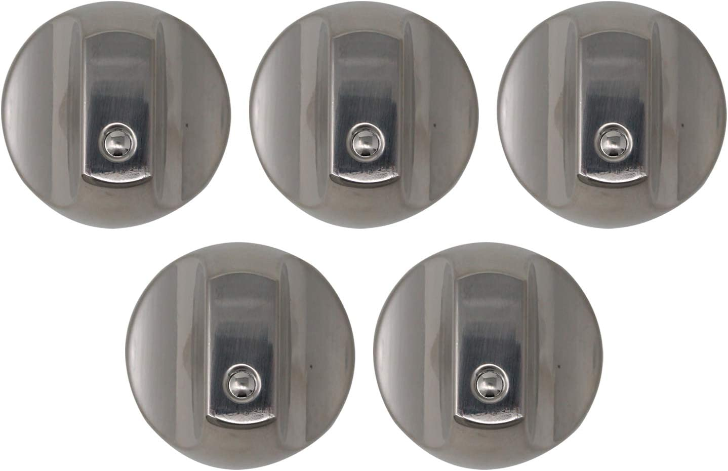 5-Pack WB03X32194 Range Knob Replacement for General Electric CG