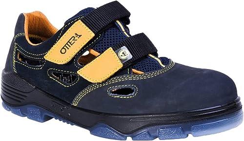Otter Schutz GmbH , Tongs Tongs pour femme Noir noir-jaune  marque de luxe