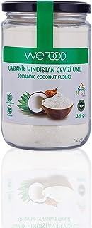 Wefood Organik Hindistan Cevizi Unu 320 gr