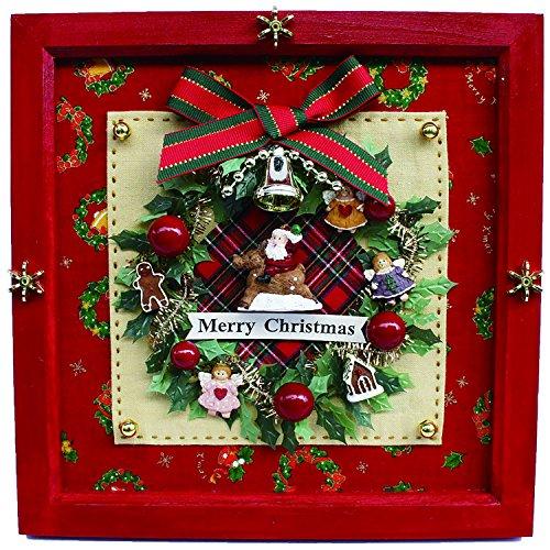 ビリー 手作りドールハウスキット クリスマスリースフレーム 8727