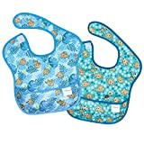 Bumkins Disney Finding Nemo SuperBib, Baby Bib, Waterproof, Washable, Stain and Odor Resistant, 6-24 Months (Pack of 2)