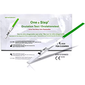 ONE STEP 50 x Test di ovulazione ultrasensibili - 20mIU/ml
