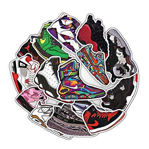 Nike Sneakers Sticker Koffer Sticker Waterdichte Graffiti Persoonlijkheid Skateboard Sticker Tide Brand 20