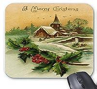 ゲーミングマウスパッド幸せな感謝祭のカボチャの絵デスクトップおよびラップトップ1パック25x20x2cm / 9.8x7.9x0.8inch