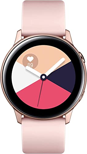 Samsung Galaxy Watch Active (40MM, GPS, Bluetooth) Smart Watch with Fitness Tracking, and Sleep Analysis - Rose Gold...