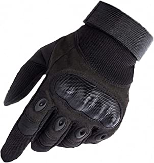 Barsly Men`s Tactical Gloves Army Outdoor Sports Microfiber Fabric Military Mittens Gloves for Male Full-Finger Gloves