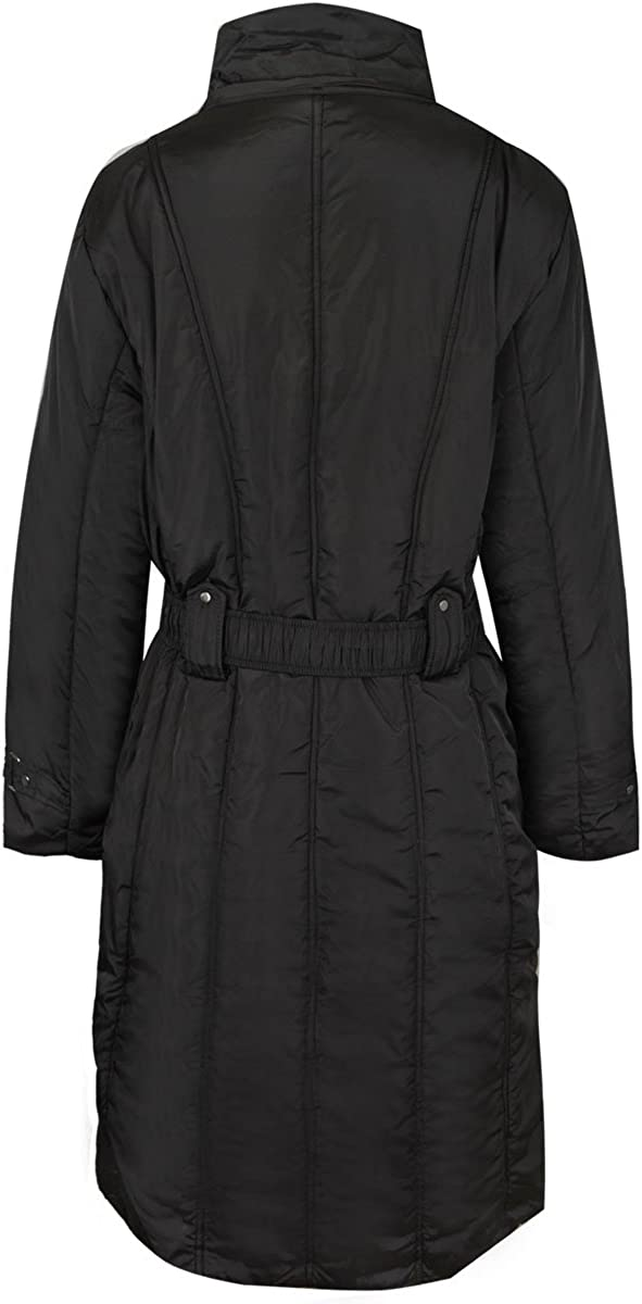 Fashion Thirsty Women's Plus Size Faux Fur Hooded Winter Coat 24 Black