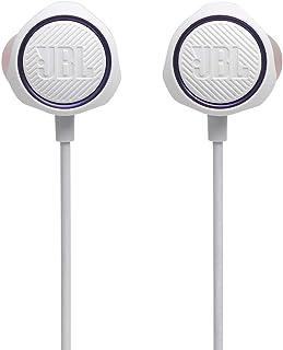 JBL Quantum 50 - Auriculares in-Ear para Videojuegos con Control en línea, Color Blanco