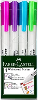Faber-Castell Slim Whiteboard Marker in Fashion Colours, 4 Pack, (67-156074)
