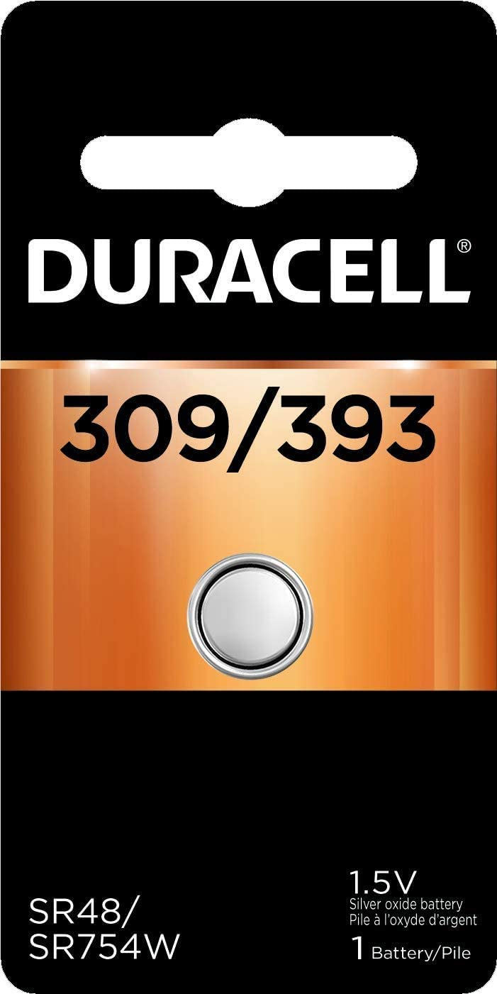 Duracell – 309 393 1.5V Silver Battery Ranking TOP13 Ranking TOP1 Oxide Button