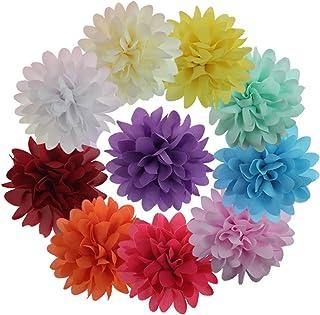 10 Piezas Pinza De Pelo Diseño De Flore Para Las Niñas &
