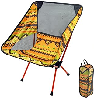 Ultralight Folding Camping Chair, Folding Chair with Storage Bag Portable Compact Seat Fishing Chair Outdoor Hiking Beach ...
