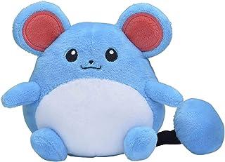 Pokémon Center: Sitting Cuties Marill Poké Plush, 4.5 Inch