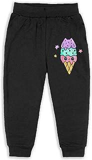Cute Cookie Ice Cream Kids Long Sweatpants Jogger Trousers