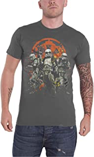 Star Wars T Shirt Han Solo Movie Mud Troopers Official Mens Charcoal Grey