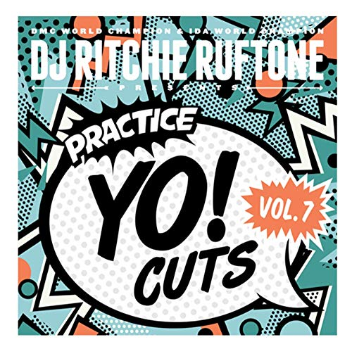 DJ Ritchie Ruftone Practice Yo! Cuts 7 inch Vinyl Vol 7 is perfect for your Numark PT01 Scratch or your Reloop Spin Portable Turntable
