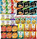 Blunon's snack bag variety pack is a convenient and economical way to buy all of your favorite healthy snacks. With 34 packs, this purchase gives you plenty of treats to last awhile. Stock up your pantry, slip in your bag, or fill up your office desk...