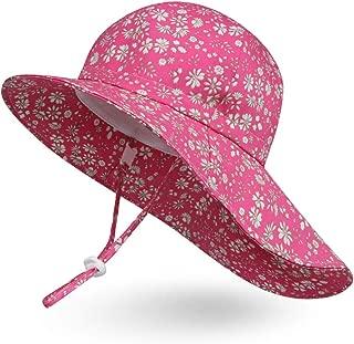 Ami&Li Baby Kids Summer Flap Cover Cap Cotton Anti-UV UPF 50+ Sun Hat