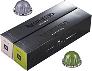 [European Version] Nespresso VertuoLine Alto XL (14 ounce) Variety, Intenso and Dolce, 20 Capsules