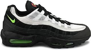 Men's Air Max 95 Essential Black/Platinum Tint/Crimson/Electric Green AT9865-004