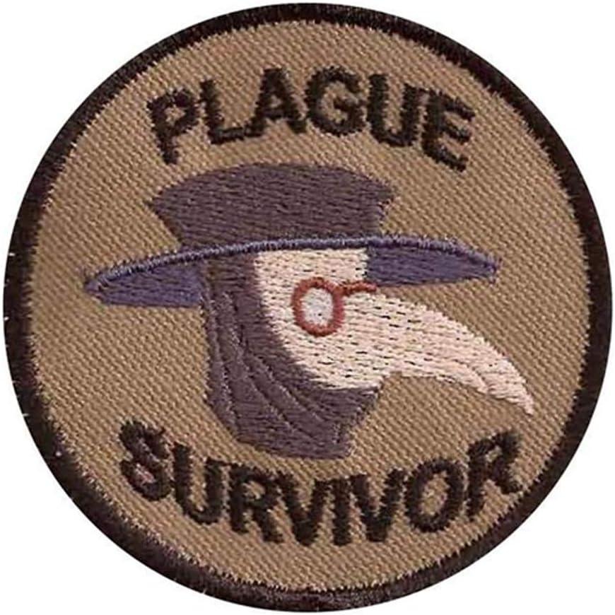 Plague Max 80% OFF Survivor Patch Geek Merit Patchs Virginia Beach Mall Pl Badge