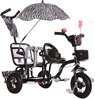 7c66f5d86 YUMEIGE triciclos Niños Triciclo Bebé Cochecito Peso de Carga 150 kg 1-6  años Regalo