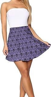 Bigfei Haunted Mansion Short Skirt Women's Casual Soft Stretch Ultra Skirt Short Pencil Skirt S-XL